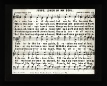 Image of BCA10-01[hymn]23 - Transparency, Lantern-slide